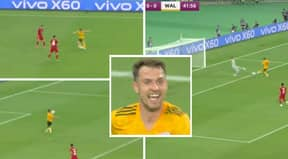 Gareth Bale Produces Outrageous, Swerving Cross-Field Pass To Assist Aaron Ramsey