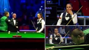 Snooker Player Refuses To Engage In Pre-Match Fist-Bump While Facing Ex-Partner