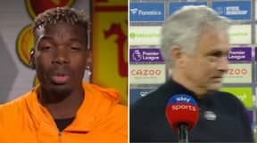 Jose Mourinho Gives Incredibly Blunt Response After Reporter Brings Up Paul Pogba Criticism
