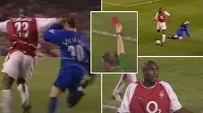 Remembering When Ole Gunnar Solskjaer Went Down After Sol Campbell 'Elbowed' Him In The Face