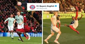 Bayern Munich Mocks Sadio Mané's Overhead Kick With FIFA 19 Reference