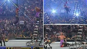 20 Years Today, Edge Speared Jeff Hardy Off The Ladder In Incredible TLC Match At Wrestlemania 17