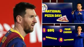 Barcelona's Official YouTube Discussing Pizza While 1-0 Down Vs Sevilla Shows They're At Rock Bottom