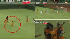 Amad Diallo Scores 97th Minute Free Kick Winner For Ivory Coast