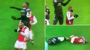 Furious Tottenham Fans Accuse Alexandre Lacazette Of 'Doing A Harry Kane' On Paul Pogba