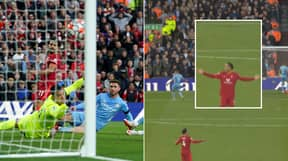 Virgil van Dijk's On-Field Reaction To Mohamed Salah's Wondergoal Shows How Special Of A Moment It Was