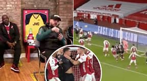 AFTV Absolutely Lost Their Sh*t At Arsenal's 1-0 Defeat To Burnley