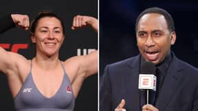 UFC Fighter Molly McCann Tells Stephen A Smith 'See You In The Car Park'