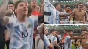 Lionel Messi Immediately Stops His Argentina Teammate From Singing A Derogatory Pele Chant