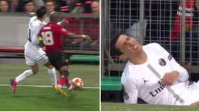 Ashley Young Is Trending For The Time He Shoved Angel Di Maria Into Metal Railings At Old Trafford