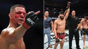 Nate Diaz Responds To Jorge Masvidal's Call To 'Run It Back' Inside The Octagon