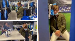 Maarten De Roon Posts Hilarious Video In Atalanta Club Shop