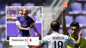 Bundesliga 2 Players Sent Off After Four Minutes Of Restart