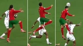 Slow-Mo Footage Captures Cristiano Ronaldo's Superhuman Leap Against France