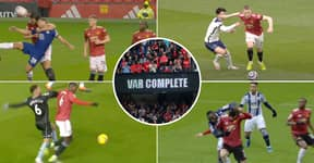 Twitter Thread 'Proves' That Manchester United Get No Help From VAR Or Referees