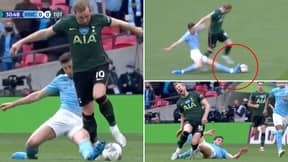 Fans Think Harry Kane Is 'The Most Shameless Striker In Football' After Ruben Dias 'Dive'