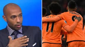 Thierry Henry Reveals The Liverpool Player He Wishes He Played With
