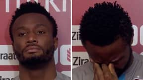 John Obi Mikel Breaks Down In Tears During Interview After Receiving Thousands Of Abusive Messages
