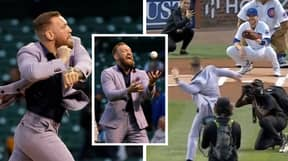 Conor McGregor Has Delivered One Of The Worst Pitches You'll Ever See At A Baseball Game