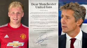 Edwin Van Der Sar Writes Open Letter To Manchester United After Donny Van De Beek Signing