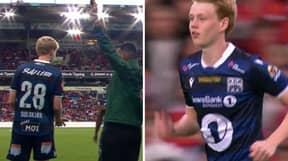 Ole Gunnar Solskjaer's Son, Noah, Makes His Debut Against Manchester United