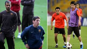 When Lionel Messi Got Angry During A Barcelona Training Session In 2009