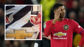 First Images Of Manchester United's Bizarre Third Kit For 2020/2021 Season Leaked