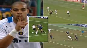 Inter Milan's Adriano Was Simply Unplayable Between 2004 And 2006