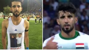 Iraq's Bashar Resan Played Against Argentina On The Same Day His Mother Passed Away