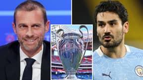 Manchester City Star Ilkay Gundogan Drops Passionate Rant Against New Champions League Format