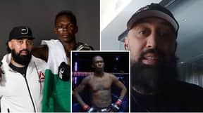Israel Adesanya's Coach Makes Claim About UFC Middleweight Champion's Right Pectoral