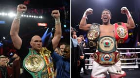 Anthony Joshua And Tyson Fury Agree Two Fight Deal