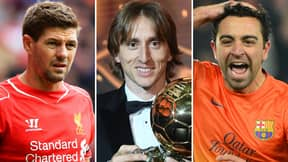 The 10 Greatest Midfielders In Football History Have Been Named And Ranked