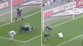 Carles Puyol Shares Clip Of Roberto Carlos Shot That Nearly 'Ripped His Head Off'