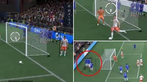 FIFA 22 Glitch With 'No-Look' Free-Kick INSIDE The Box And Off-Pitch Wall Leaves Fans Baffled