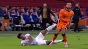 Memphis Depay 'Out Muscled' Adama Traore During Netherlands Draw With Spain
