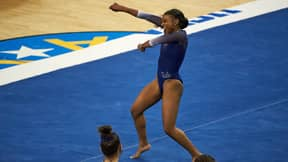 Sports Fans Go Wild Over Nia Dennis' Viral Black Culture Gymnastics Routine