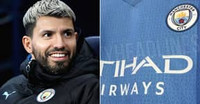 Manchester City's 'Leaked' 2021/22 Home Kit Features Hidden Tribute To Sergio Aguero