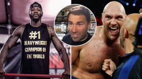 Eddie Hearn Thinks Deontay Wilder Will Fight Tyson Fury Next, Not Luis Ortiz