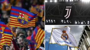 European Super League Clubs All Admitted To Next Season's Champions League
