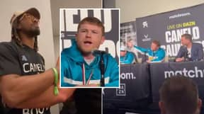 Canelo Alvarez Loses His Head During X-Rated Row In Press Conference