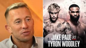 Georges St-Pierre Makes His Prediction For Jake Paul Vs. Tyron Woodley And It Will Surprise You