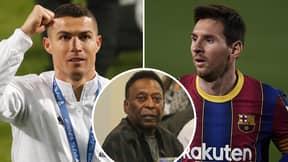 Brazil Legend Pele Snubs Cristiano Ronaldo And Lionel Messi In His FIFA 21 Team Of The Year