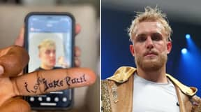 Tyron Woodley Accused Of Faking 'I Love Jake Paul' Tattoo
