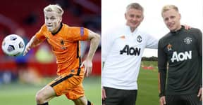 Donny Van De Beek Compared To Manchester United Legend Before Debut