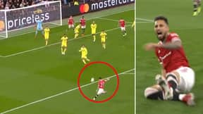Alex Telles Channeled His Inner Arjen Robben To Score Sensational Volley, Old Trafford Went Wild