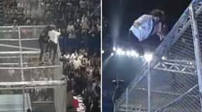 23 Years Ago Today, The Undertaker Hurled Mankind Off Hell In A Cell In WWE's Most Dangerous Stunt Ever