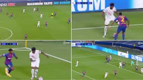Alphonso Davies Destroys Barcelona's Defence For Bayern Munich's Fifth Goal