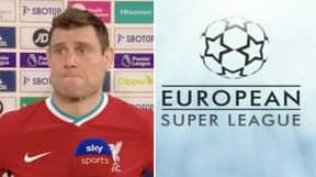 James Milner Says He Hopes European Super League Doesn't Happen In Brutally Honest Interview