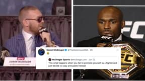 Conor McGregor Reacts To Video Of Kamaru Usman Copying His Most Famous Quotes